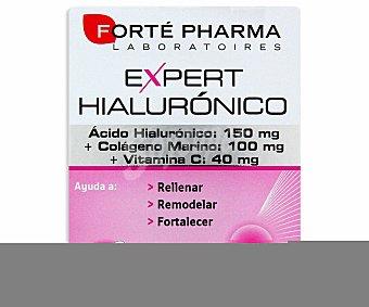 EXPERT HIALURÓNICO Complemento alimenticio antiedad con ácido hialurónico,colágeno marino y vitamina c,, 30 C