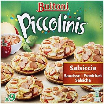 Buitoni Piccolinis Piccolinis de salchichas Frankfurt y queso 270 Gramos