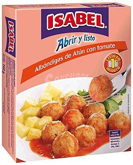 Isabel Albóndigas de atún con tomate Sobre 100 g