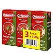 Tomate frito con aceite de oliva virgen extra Pack de 3 briks de 350 g Orlando