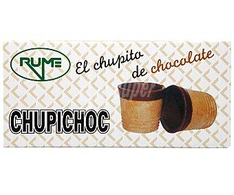 Rume Vasitos de barquillo de chocolate para helados Pack 10 x 55 g