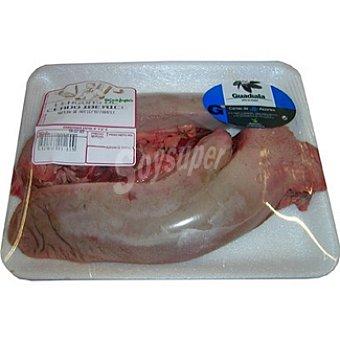 Lengua fresca de cerdo ibérico peso aproximado Bandeja 500 g