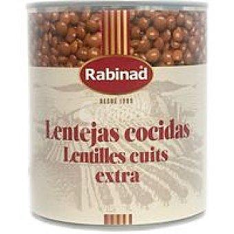 Rabinad Lenteja cocida Lata 1 kg