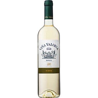 VIÑA VALORIA Vino blanco vendimia seleccionada D.O. Rioja botella 75 cl 75 cl