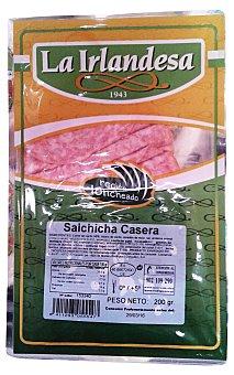 La Irlandesa Salchicha casera lonchas finas Paquete 200 g
