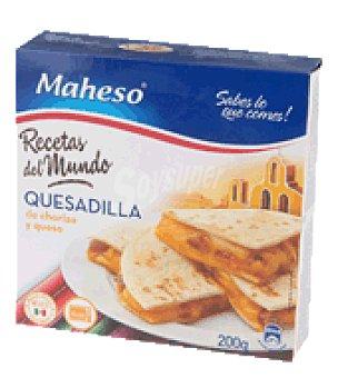 Maheso Quesadilla de chorizo y queso 200 g