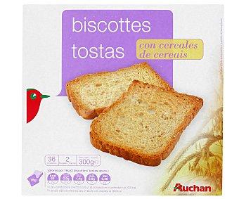 Auchan Biscotes con cereales 300 gr