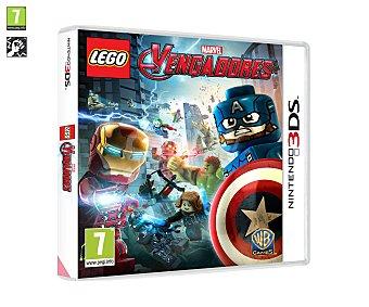 Acción Videojuego Lego Marvel Vengadores, Avengers, para Nintendo 3 Ds. Género: aventura, acción. Edad: +7 3Ds