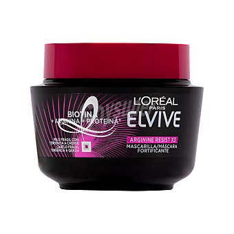 Elvive L'Oréal Paris Mascarilla capilar arginina resist x3 Tarro 300 ml