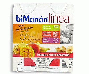 Bimanan Mango Smoothie 4x125ml