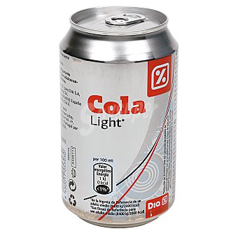DIA Refresco de cola light lata 33 cl Lata 33 cl