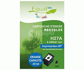 Equalink Cartuchos Reciclados de Tinta H27A Negro 1u