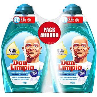 Don Limpio Limpiador en gel concentrado Nubes de Algodón Pack 2 botella 600 ml