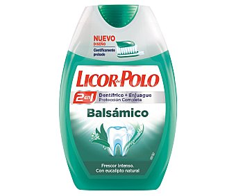 Licor del Polo Dentífrico 2 en 1 balsámico Bote 75 ml