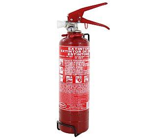 ROLMOVIL Extintor apagafuegos con manómetro 1 kilogramo