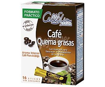 Cellislim Café Verde Sobres Adelgazamiento 16 Unidades