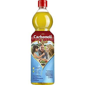 CARBONELL OLYS Aceite con acidos grasos Omega 3 botella 1 l 3 botella 1 l