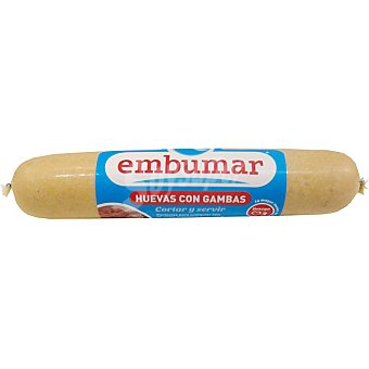 Embumar Huevas con gambas embutidas y cocidas listo para cortar y servir Envase 150 g