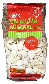 Hacendado Pipas calabaza aguasal Paquete 125 g