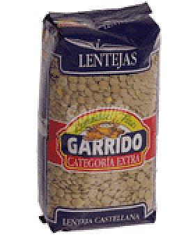Garrido Lenteja castellana Paquete 500 g
