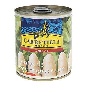 Carretilla Yemas de espárragos blancos extra gruesas 205 g