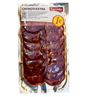 Farcedo Chorizo extra lonchas 100 g