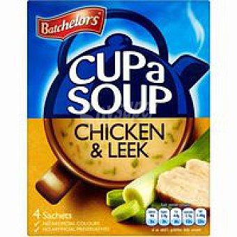 Batchelors Sopa de pollo-puerro Paquete 86 g