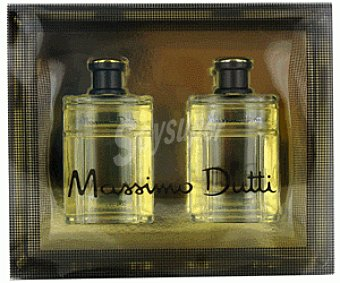 Massimo Dutti Estuche Colonia Hombre 100 Mililitros + After Shave 100 Mililitros 1u