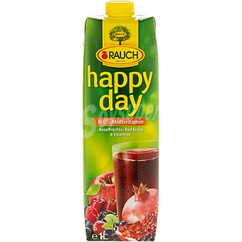 RAUCH HAPPY DAY Zumo de frutos rojos 100% Multivitaminas Envase 1 l