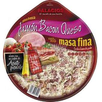 Palacios Pizza de jamón-bacón 1 unid