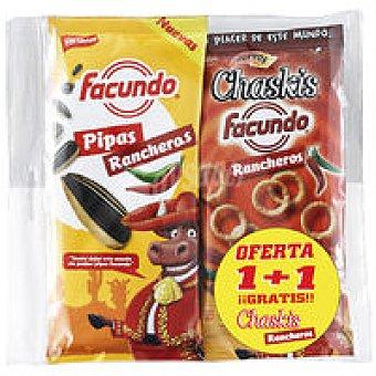 Facundo Pipas rancheras + chaskis rancheros  150 gr y 60 gr