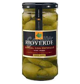 Rioverde Aceituna gordalc/pepini 180 G