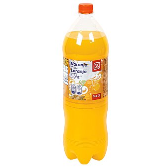 DIA Naranja con gas light Botella 2 l