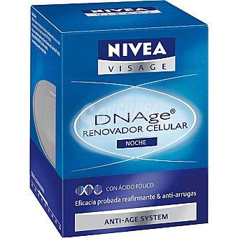 Nivea Renovador celular sistema anti-edad noche Visage Dnage Tarro 50 ml