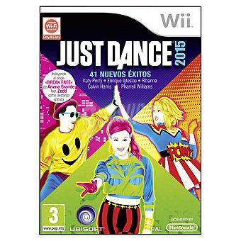 WII Wii videojuego Dance 2015 1 Unidad