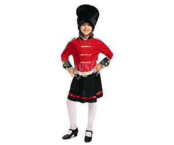 My other me Disfraz infantil Guardia Inglesa, talla 5-6 años ME.