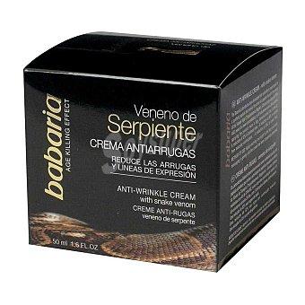 Babaria Crema facial veneno de serpiente 50 ml