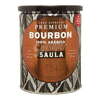 Saula Café tostado molido Premium Bourbon 250 g