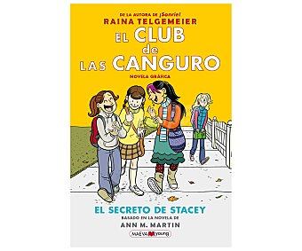 Maeva El club de las canguro: El secreto de Stacey, raina telgemeier. Género: infantil. Editorial Maeva.
