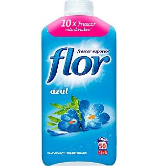 Flor Suavizante concentrado azul Botella 45 dosis