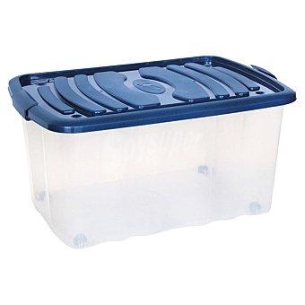 MONDEX Tangeri Caja multiusos con tapa en color azul  45 l