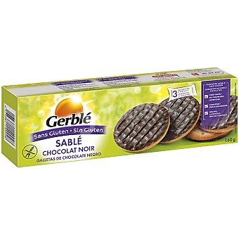 Gerblé Galletas de chocolate negro sin gluten Envase 170 g