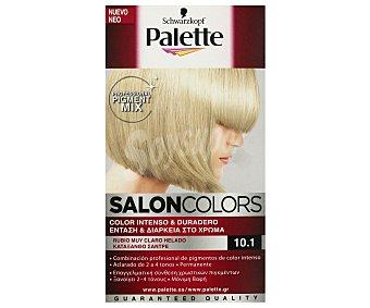 Palette Schwarzkopf Tinte 10.1 rubio muy claro helado salon colors