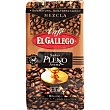 Pleno Aroma café molido mezcla 50-50  paquete 250 g El Gallego