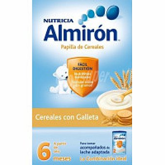ALMIRON Cereal con galleta Caja 600 g