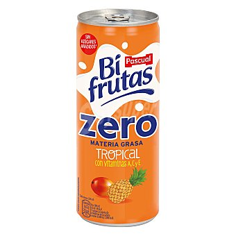Bifrutas Pascual Zumo lata Tropical zero Bifrutas 250 ml