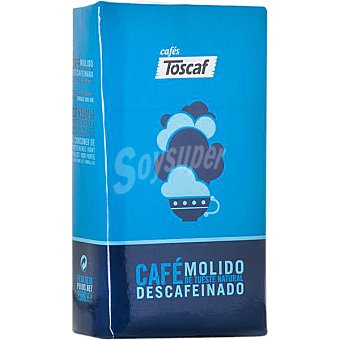 Toscaf Cafe descafeinado molido Paquete 250 g
