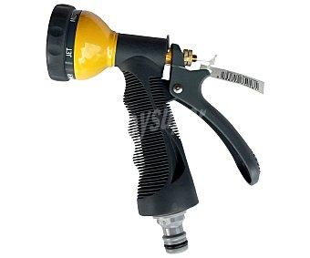 Productos Económicos Alcampo Pistola de riego metálica con jets intercambiables 1 Unidad
