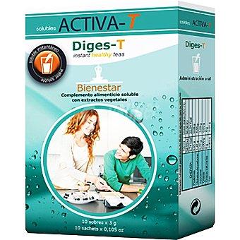 ACTIVA-T Diges-T Bienestar sin azúcar envase 10 sobres