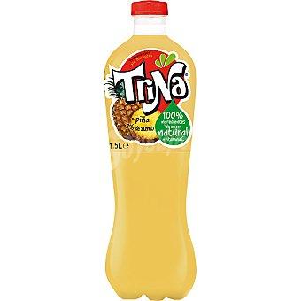Trina Refresco de piña sin burbujas 100% ingredientes naturales + Vitamina C Botella 1,5 l